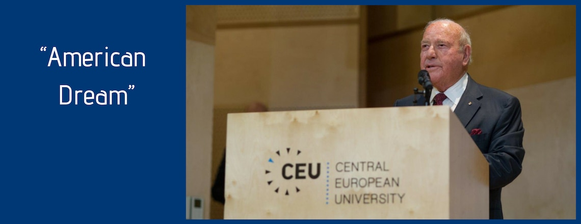 Ambassador Cornstein's Talk at CEU